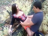 Fattie Gets Lucky In The Forest