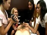 CFNM experiment with four girls
