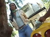 Hot Ebony Girl From The Hood Gets Paid For Fuck