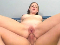 Elegant russian redhead babe April craves for fuck