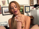 Lovely latin Samantha Bell gets rudely fucked