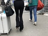 Candid See through French ass