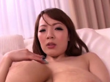 Wang sucking action by remarkable idol Hitomi with firm tits