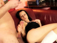 Cock loving sexy amateur babe