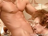 Old granny loves getting some young dick