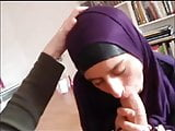 Muslim islamic sluty whore blowjob in hijab deepthroat