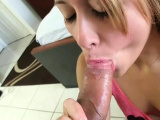 Delicious darling gives hunk a wild fuck and oral job
