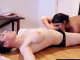 Girls Out West - Hot girls lick toes and hairy cunts
