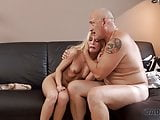 DADDY4K. Fat old dad gets a chance of making love to sons gf