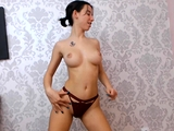 Incredibly hot camgirl with perfect tits
