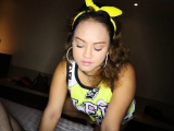 Thick Thai amateur pov blowjob and sex while buttplugged