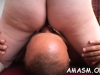Cock is good for a good enchanting floosy s blowjob