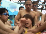 Teen Attacked by Perverts at the Pool!