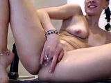 Small Breasted Fae Toying Her Pussy