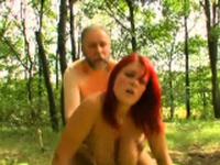 Pal bangs beauty Laura with impressive natural tits