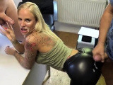 Cumshot wanting amateur MILF wanks cock in POV video