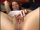 Hot real amateur brunette gives her boyfriend a POV blowjob