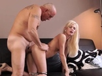 Fat old lady first time Horny blondie wants to attempt