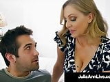 Mommy? Is that you? Hot Milf Julia Ann Face Fucks Step Son!