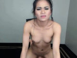 asian cutie gets naughty when masturbating on webcam