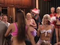 Play time with a sex group of swingers