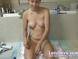 Amateur tries 1st Hot Wax play with oil and spanking too