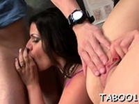Schlong for a curvaceous girl Angelina Castros wet cuch