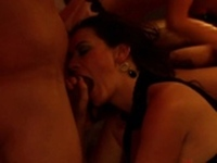 Breast licking and swinger swap!
