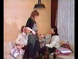 Vintage, 3som, MMF, hot and horny fucking, european sex