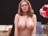 Busty Kathy Blows cock