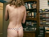 Brie Larsons ass in a thong