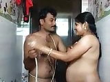 Indian Bhabhi In Shower